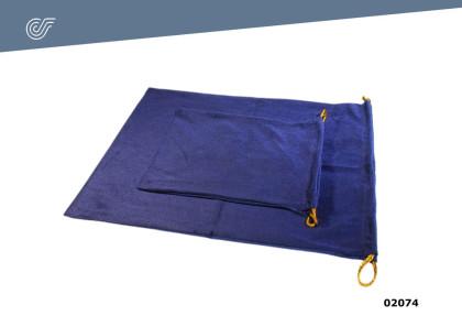 Bolsa terciopelo azul urna Ossona