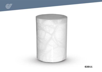 Urna Incinerar nº 2 Alabastro Blanca