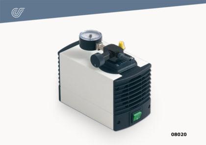 Bomba eléctrica portátil c/manómetro