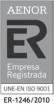 Aenor Empresa Registrada Certificado SGC 2018_ER1246_2010
