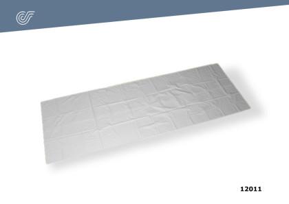 Sudario blanco c/cremallera (80×220 cm.)