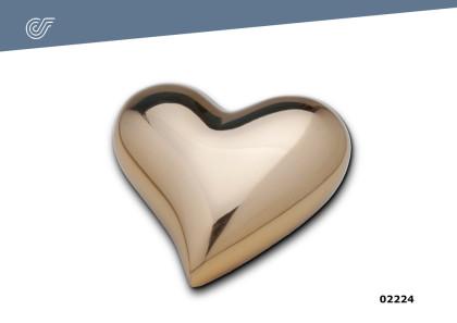Relicario Corazón dorado