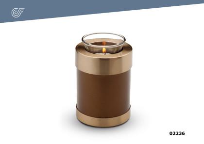 Mini urna con vela Grecia