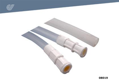 Tubo de silicona 9 mm.
