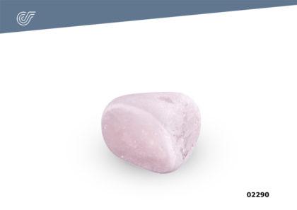 Relicario Mineral Cuarzo rosa