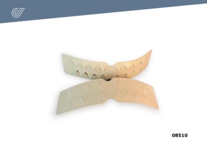 Forma boca plana (24 u.)