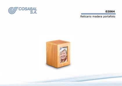 Relicario madera portafoto