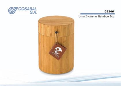 Urna Incinerar Bamboo Eco Burial
