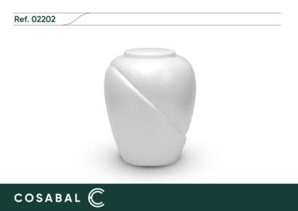 Urna biodegradable SENA blanca