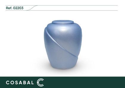 Urna biodegradable SENA Azul