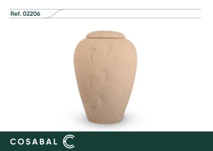 Urna biodegradable Pisadas