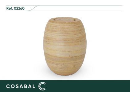 Urna Incinerar Biodegradable Bamboo