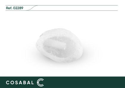 Relicario Mineral Cuarzo blanco